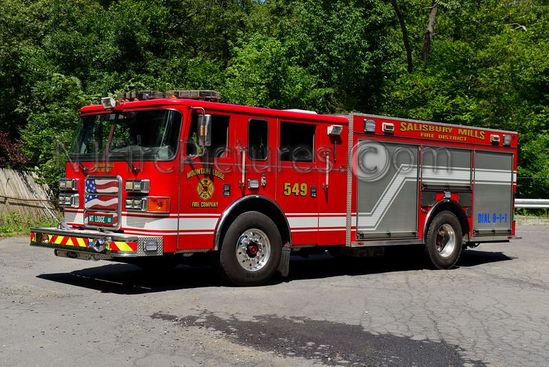 SALISBURY MILLS, NY ENGINE 549 MOUNTAIN LODGE FIRE CO.