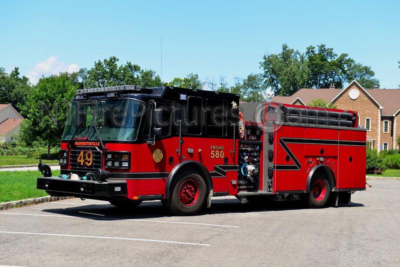 WASHINGTONVILLE, NY ENGINE 580