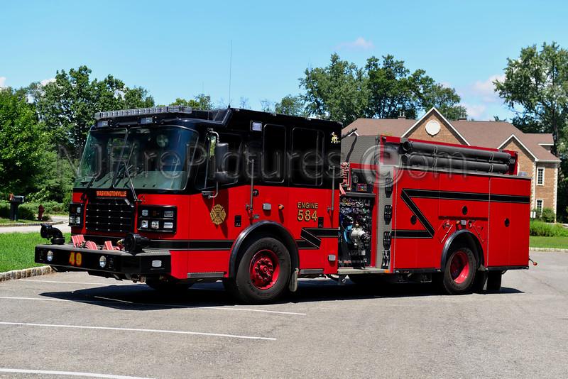 WASHINGTONVILLE, NY ENGINE 584