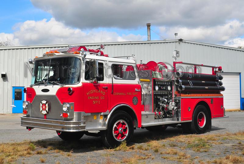 CORNWALL, NY ENGINE 400 HIGHLAND ENGINE CO.