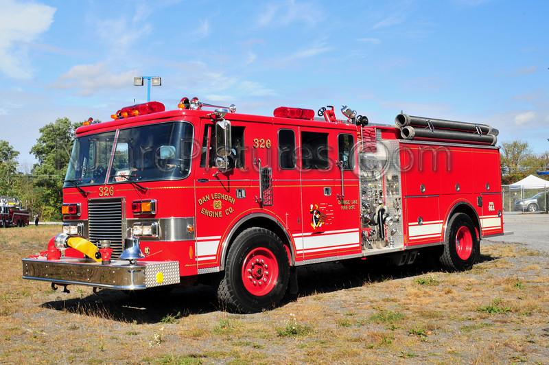 ORANGE LAKE, NY ENGINE 326 DAN LEGHORN ENGINE CO.