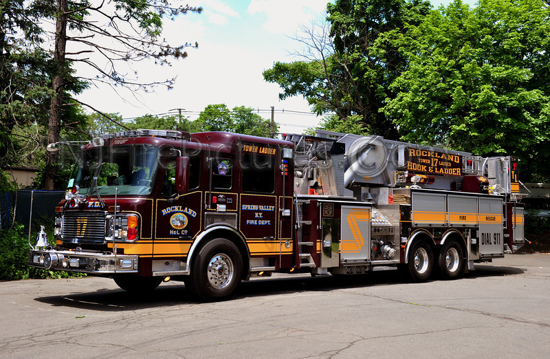 SPRING VALLEY, NY (ROCKLAND H&L CO.) TOWER LADDER 17