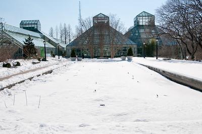 BROOKLYN BOTANIC GARDEN WITH SNOW - 06 FEB 2011