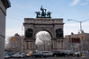 Grand Army Plaza with cars...