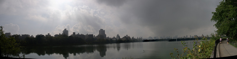 CENTRAL PARK IN A CLOUDY DAY... 27 SEP 2011
