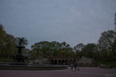 LIGHT PAINTING IN CENTRAL PARK - 28 APR 2013