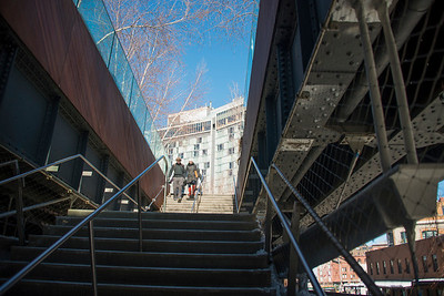 SHORT WALK IN THE HIGH LINE AND CHELSEA PIERS - 17 FEB 2014
