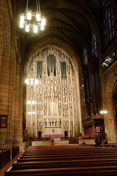 SAINT THOMAS CHURCH - MARCH 29, 2009
