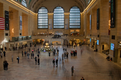 SHORT VISIT TO GRAND CENTRAL TERMINAL - 19 JAN 2013