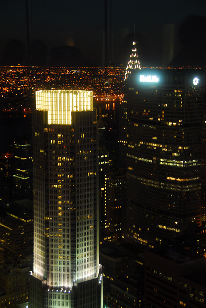 TOP OF THE ROCK AT SUNSET - September 29, 2007