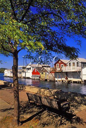 NY CANANDAIGUA CANANDAIGUA LAKE BOATHOUSES 1 W