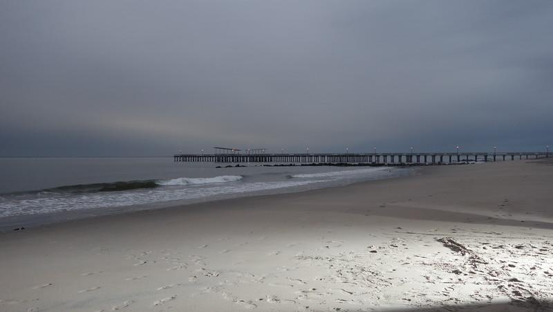 Coney Island at dawn