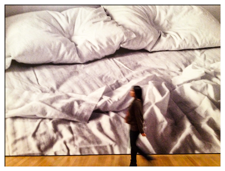 "Felix Gonzalez-Torres's ""Untitled""<br /> Print/Out Exhibit<br /> MoMA"