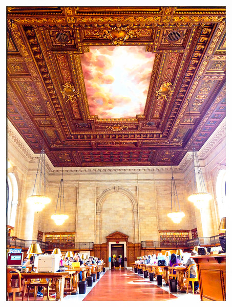 Reading Room<br /> NY Public Library