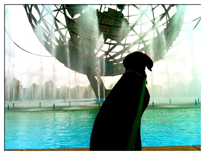 The Unisphere<br /> Flushing Meadows Corona Park<br /> Queens