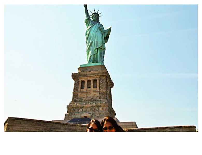 Quintessential Tourist<br /> Liberty Island