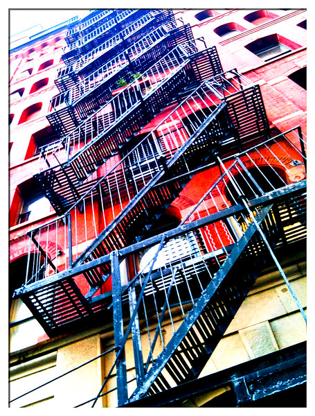 Fire Escape<br /> Soho
