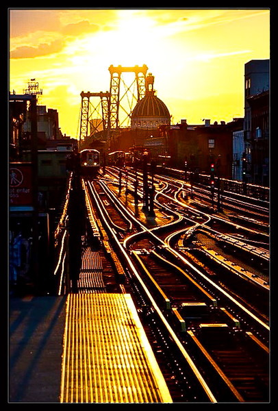 J/M Line Sunset<br /> Williamsburg