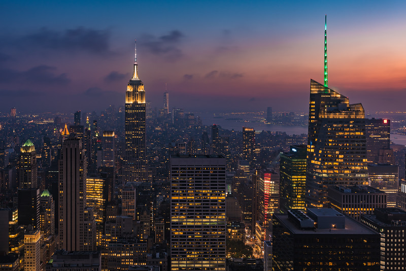 Manhattan Twilight