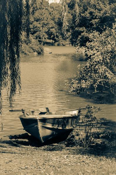 Boat in Central Park