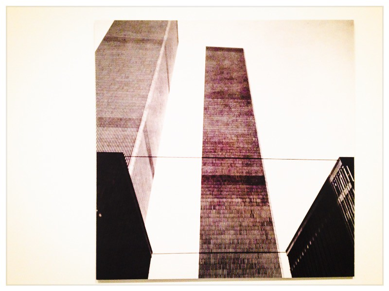 New York Projections Exhibit<br /> Word Trade Center, 1977<br /> MoMA