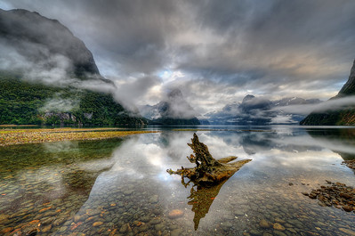 MILFORD SOUND MIRROR