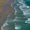 Surf on the beach, Cape Reinga, Aupouri Peninsula, Far North District, North Island, New Zealand