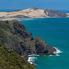 Scenic view of coastline, Cape Reinga, Aupouri Peninsula, Far North District, North Island, New Zealand