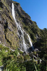 Earland Falls, 174m Tall, with Sarah!