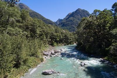 Routeburn, First Views