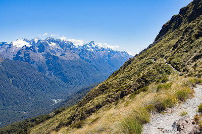Routeburn Track, between Lake Harris and Lake Mackenzie