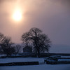 winter sunset wensleydale (1)