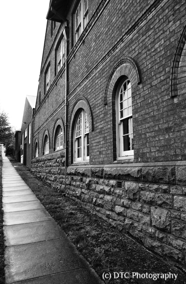 Side view, Old Technical College, Goulburn