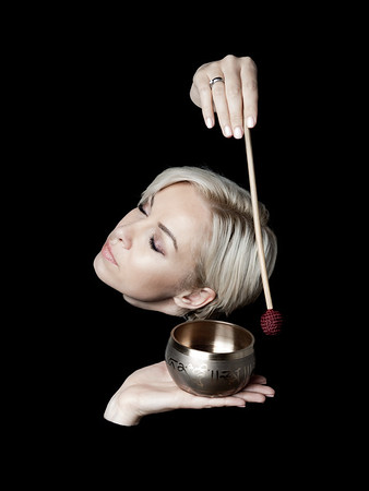 Masha and Tibetan Singing Bowls