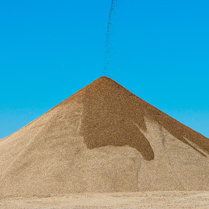 A plant for the production of crushed stone, gravel and sand.