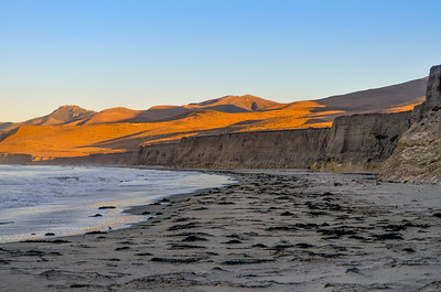 Early morning light on the hills above Jalama Beach, CA.