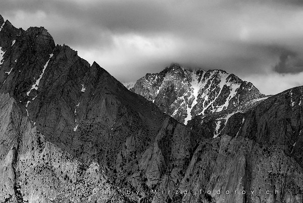 North ridge of Lone Pine Peak, CA