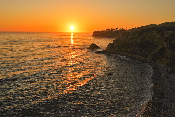 Can not be better than this, the always glorious sunset from Palos Verdes Peninsula cliffs. August 27, 2011