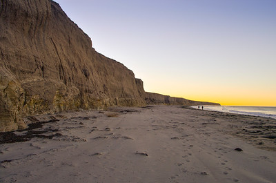 Early walk on Jalama Beach. North of Santa Barbara, CA