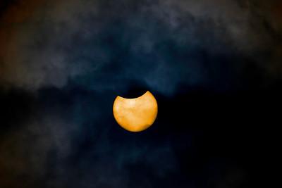 Partial Solar eclipse 2017, South Bay, California