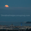 Moonrise over SFO