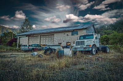Painted Skies Garage