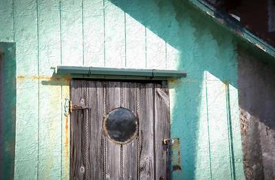 Wooden Grain Door