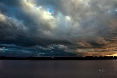 Evenign Clouds Rolling in