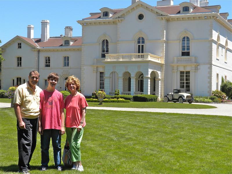 Astor Beechwood Mansion in Newport, MA