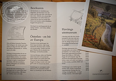 Examples from the donation containing research materials, documentation, analyses and originals from several early enterprise projects (museums, exhibitions, knowledge projects, etc.) created by The IK Foundation. For a full archive catalogue, please contact Kivik's museum, Sweden.