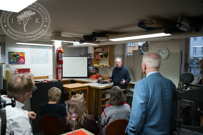 Speach by Professor emeritus Gunnar Broberg in the book bindery, 2.3.2017.
