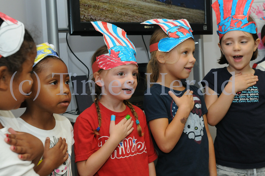 . Audubon YMCA holds Better Together celebration in honor of YMCA\'s Alliance Week August 7, 2014. Photo by Gene Walsh / Times Herald Staff