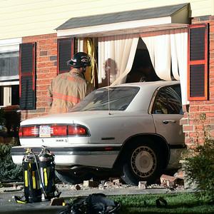 Car crashes into Plymouth Township home