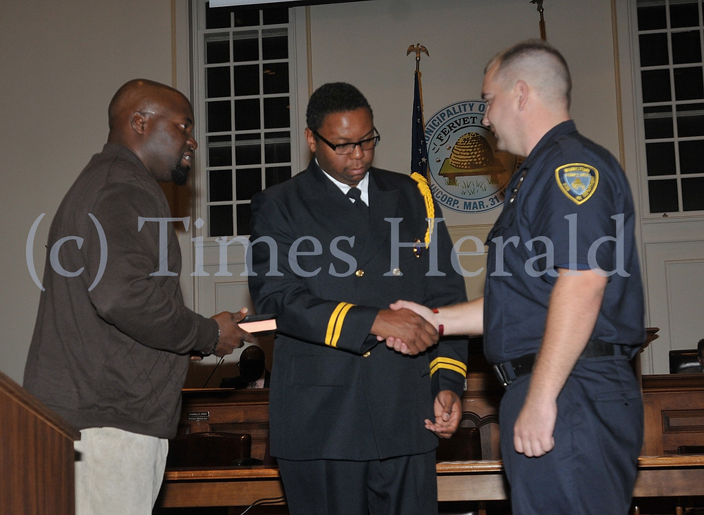 . Photographs from the Norristown Municipal Meeting on Tuesday evening.